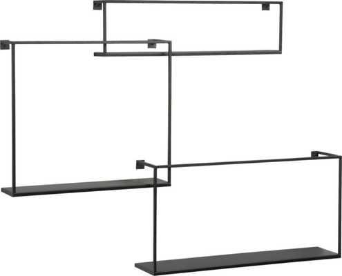 Set of 3 floating shelves - CB2