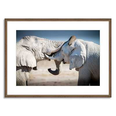 Offset for west elm Print - Two Elephants by Aurora Photos - West Elm