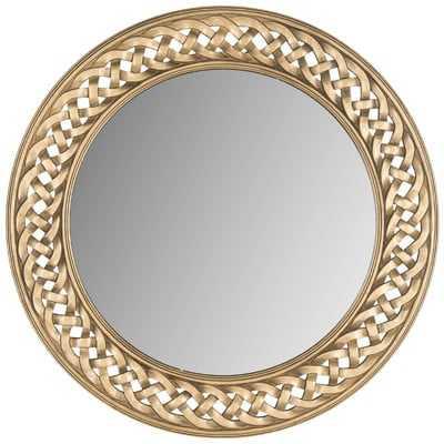 Braided Chain Wall Mirror - Wayfair