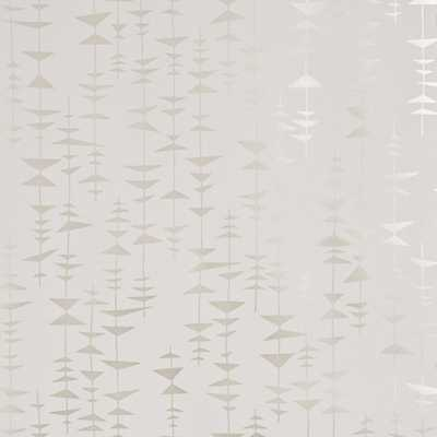 Ditto wallpaper - Champagne - Walnut Wallpaper
