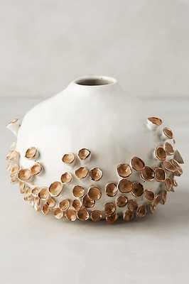Water Flora Vase - Medium, Honey - Anthropologie