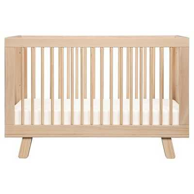 Babyletto Hudson 3-in-1 Convertible Crib with Toddler Rail - Washed Natural - Target