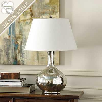 Suzanne Kasler Mercury Glass Gourd Lamp - Large - Ballard Designs