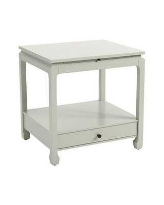 "Sophie Side Table - Blue Grey - 27 1/2""H X 27""W X 23""D - Ballard Designs"