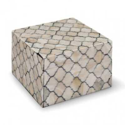 MOSAIC QUATREFOIL BOX (SMALL) - Regina Andrew