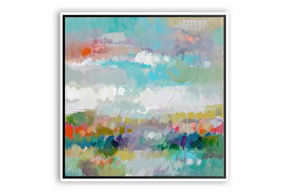 "Erin Gregory, Limelight III - 40"" x 40"" - White Frame-No Mat - One Kings Lane"