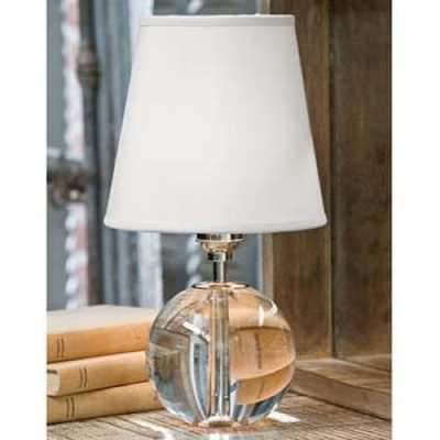 CRYSTAL ORB MINI SPHERE LAMP - Regina Andrew