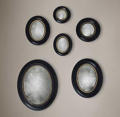 MERCURY GLASS CONVEX MIRROR (SET OF 6) - RH