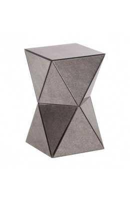 Prism Side Table Antique - Zuri Studios