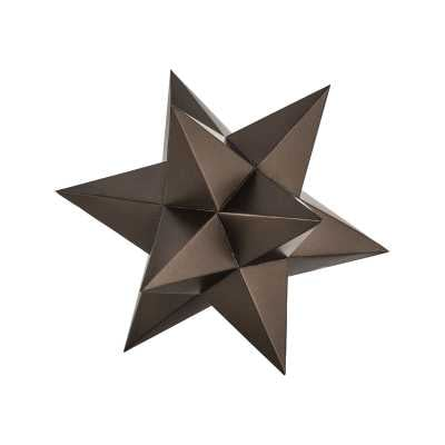 Aged Bronze Table Top Stars - Rosen Studio