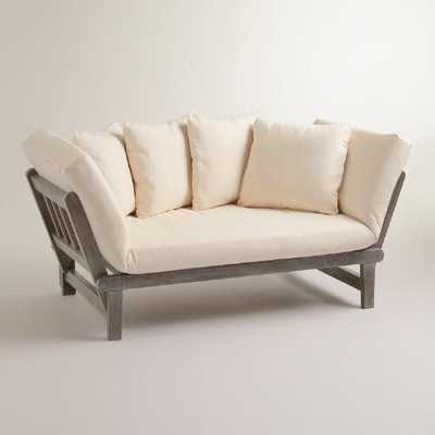 Graywash Studio Day Sofa - World Market/Cost Plus