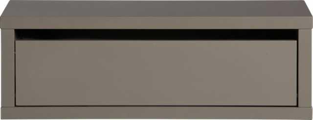 Slice wall mounted storage shelf - CB2