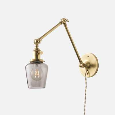 Princeton Long Plug-In Sconce - Schoolhouse Electric