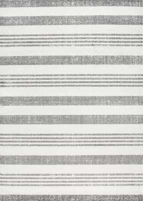 "Striped Kelsi Rug - Grey - 5'3"" x 7'9"" - Loom 23"