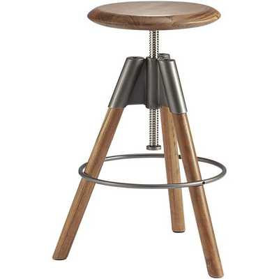 Revolution adjustable bar stool - CB2