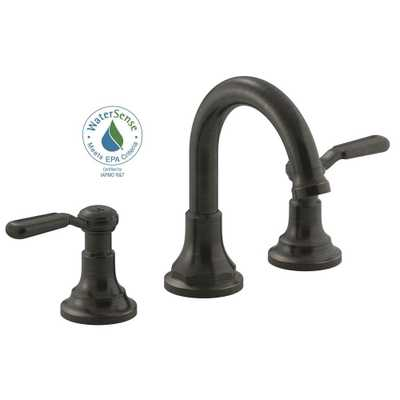 Worth 8 in. 2-Handle Widespread Bathroom Faucet - Oil-Rubbed Bronze - Home Depot