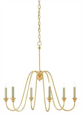 ORION CHANDELIER, SMALL - Currey and Company