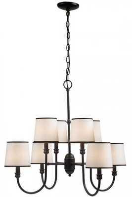 BRISBANE 8-LIGHT CHANDELIER - Home Decorators