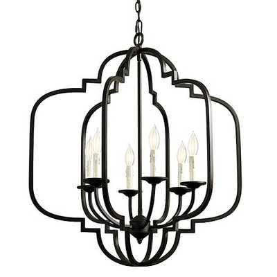 Katherine 6-Light Geometric Chandelier - Ballard Designs