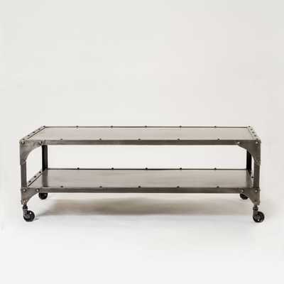 Antique Finish Coffee Table - West Elm