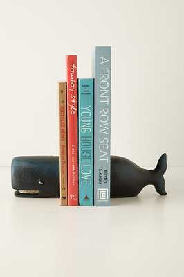 Victorian Whale Bookends - Set of 2 - Anthropologie