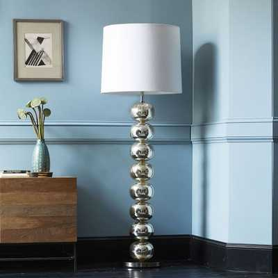 Abacus Floor Lamp - Mercury - West Elm