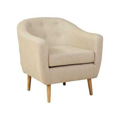 Metropolitan Club Chair -Beige - Wayfair