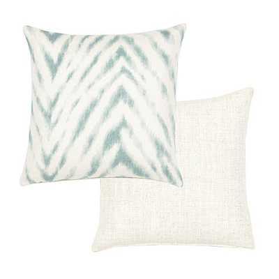 """Wilde Pillow -18"""" x 18"""" - Mineral - Ballard Designs"""
