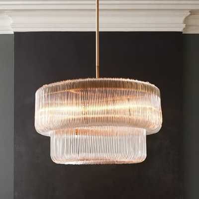 Waterfall Chandelier - West Elm