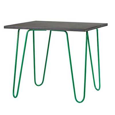 Neon Chalkboard Table - Green - Land of Nod
