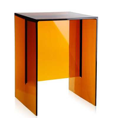Max-Beam Stool / Small Table - Amber - AllModern