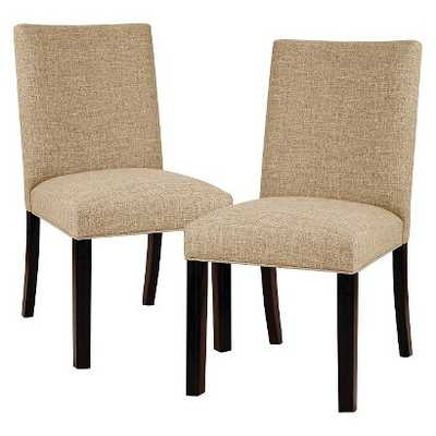 Threshold Parsons Dining Chair- 2 pack - Target