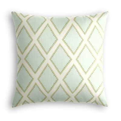 "Throw Pillow  Marquise - Dew - 18"" x 18"" - no insert - Loom Decor"