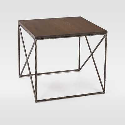 Lamon Luther Side Table - Walnut - West Elm