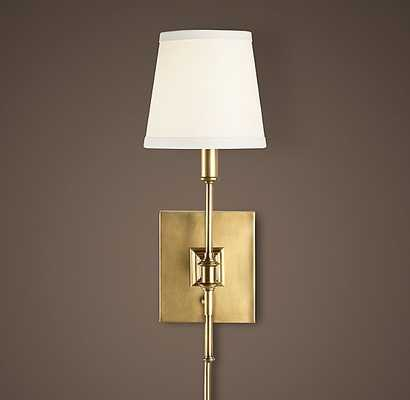 LIBRARY SCONCE - RH