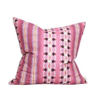 TANGIER PILLOW-20'' x 20'' - Down insert included - bunglo