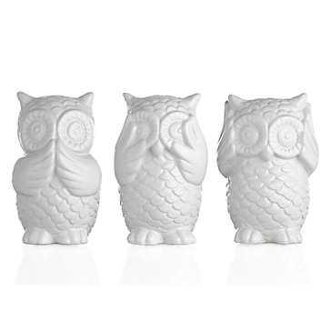 3 Wise Owls - Z Gallerie