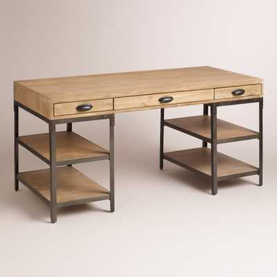 Wood and Metal Teagan Desk - World Market/Cost Plus