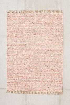 Vernick Berber Rug, Red Multi - 8' x 10' - Urban Outfitters