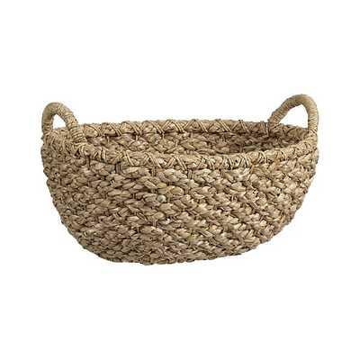 Emlyn Oval Basket - Crate and Barrel