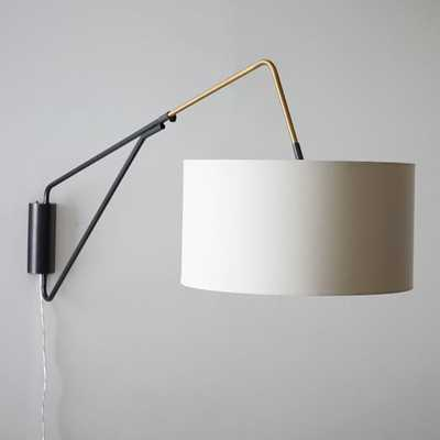 Mid-Century Overarching Wall Sconce - West Elm