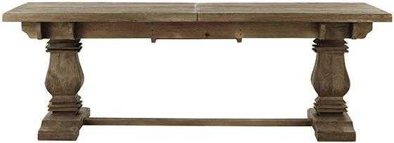 Aldridge Extendable Dining Table - Antique Grey - Home Decorators