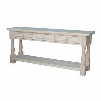 Tuscan Console Table - Wayfair