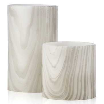 Marble LED Pillar - Small - Z Gallerie