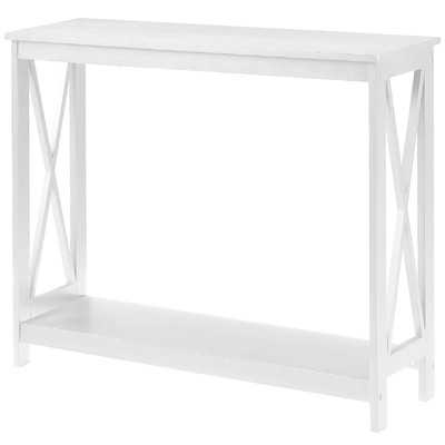 Washington Console Table-White - Wayfair