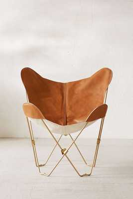 Leather Butterfly Chair Cover - Tan - Urban Outfitters