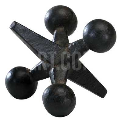 LARGE BLACK JACK - LARGE* - art.com