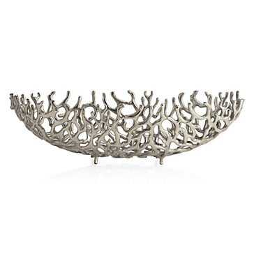 Coral Aluminum Bowl - Z Gallerie
