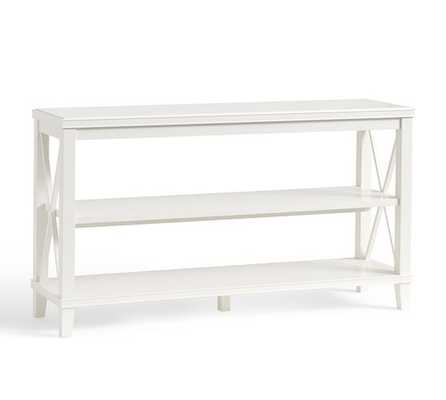 Cassie Console Table - White - Pottery Barn