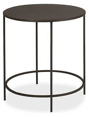 Slim Round End Table - Room & Board